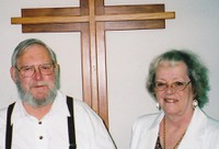 "Photo of Robert and Elizabeth Ellis, who say ""no"" to her forced outpatient electroshock"