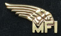 MindFreedom Logo Jewelry - Antique Brass