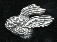 Flying Brain Jewelry - Pewter