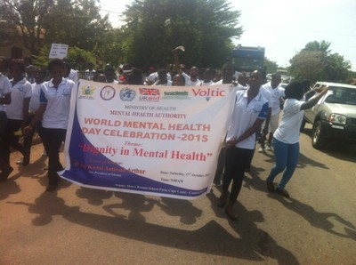 World Mental Health Day 2015 - Ghana