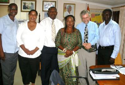 MFI-Ghana photo with Celia and David