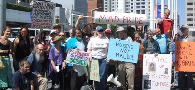 Some of the protesters of American Psychiatric Association Annual Meeting 2009.
