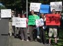 Electroshock Survivor Leads Successful Protest Near Portland, Oregon