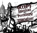 """Banner Icon """"excerpt"""" from Amy Smith OccupyAPA Art Work"""