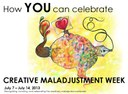 How YOU can celebrate Creative Maladjustment Week