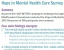 Findings from the Hope In Mental Health Care Survey now available!